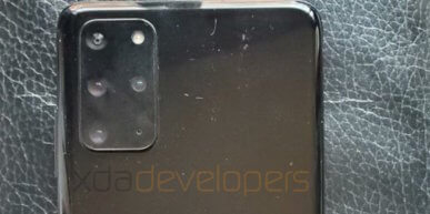 Samsung Galaxy S20 looks en camera gegevens