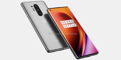 OnePlus 8 lancering in tweede week van april